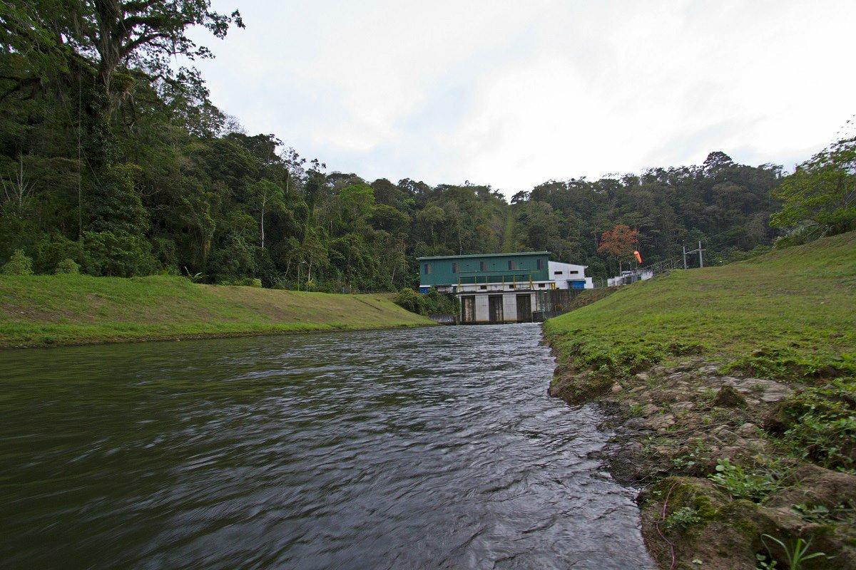 Generación hidroeléctrica Costa Rica
